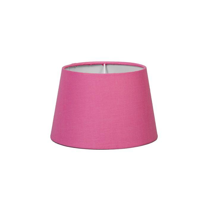 Lampskärm-'18cm-R-SD-E27'-Nej-rosa/tyg-Passande-för-LED
