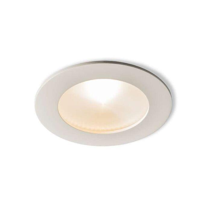 Spotlight/downlight-'Invaser-6W'-Modern-vit/aluminium-LED-inkluderat
