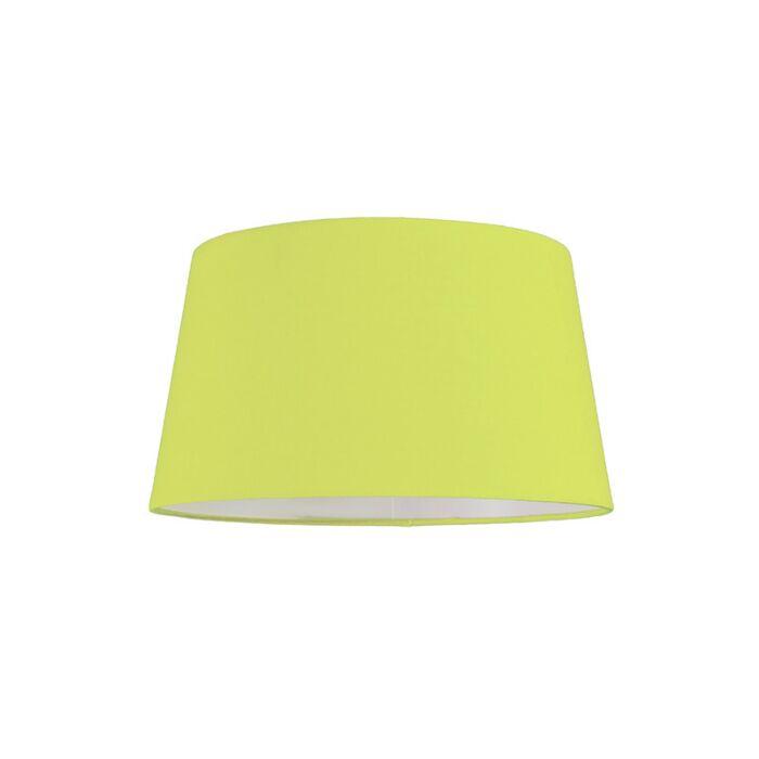 Lampskärm-'30cm-R-SU-E27'-Nej-grön/tyg-Passande-för-LED