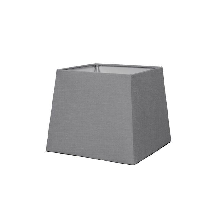 Lampskärm-'18cm-Q-SD-E27'-Nej-grå/tyg-Passande-för-LED