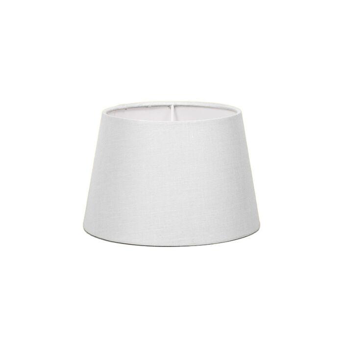 Lampskärm-'18cm-R-SD-E27'-Nej-vit/tyg-Passande-för-LED