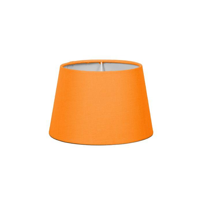 Lampskärm-'18cm-R-SD-E27'-Nej-orange/tyg-Passande-för-LED