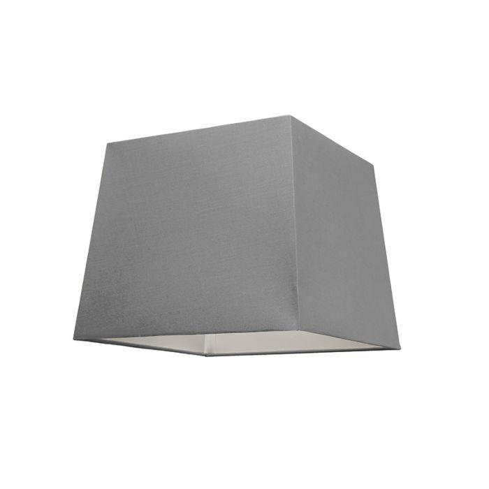 Lampskärm-'30cm-Q-SU-E27'-Nej-grå/tyg-Passande-för-LED