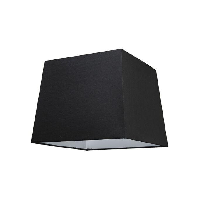 Lampskärm-'30cm-Q-SU-E27'-Nej-svart/tyg-Passande-för-LED