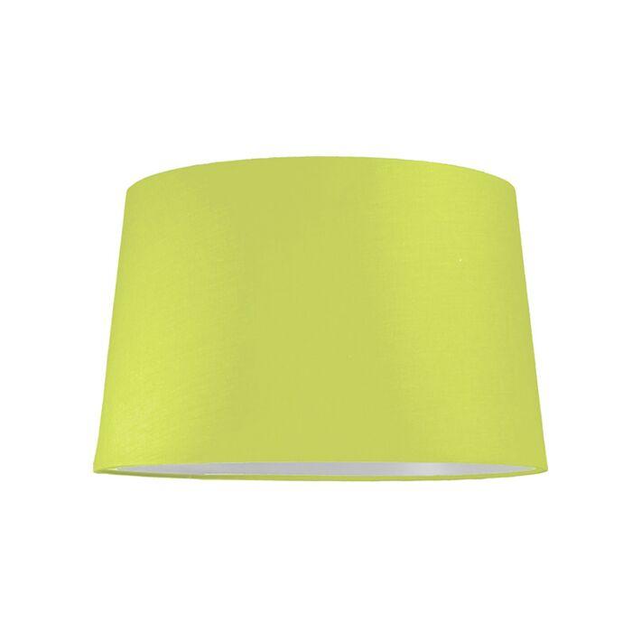 Lampskärm-'40cm-R-SU-E27'-Nej-grön/tyg-Passande-för-LED