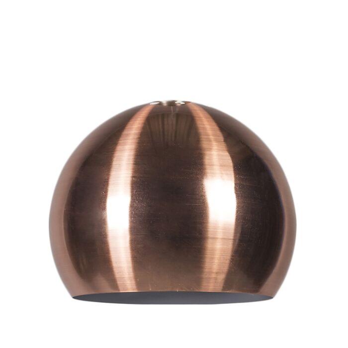 Lampskärm-'Globe-28cm'-Moderna-koppar--