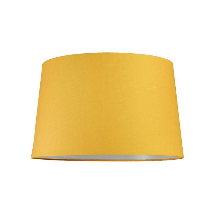 Lampskärm-'40cm-R-SU-E27'-Nej-gul/tyg-Passande-för-LED
