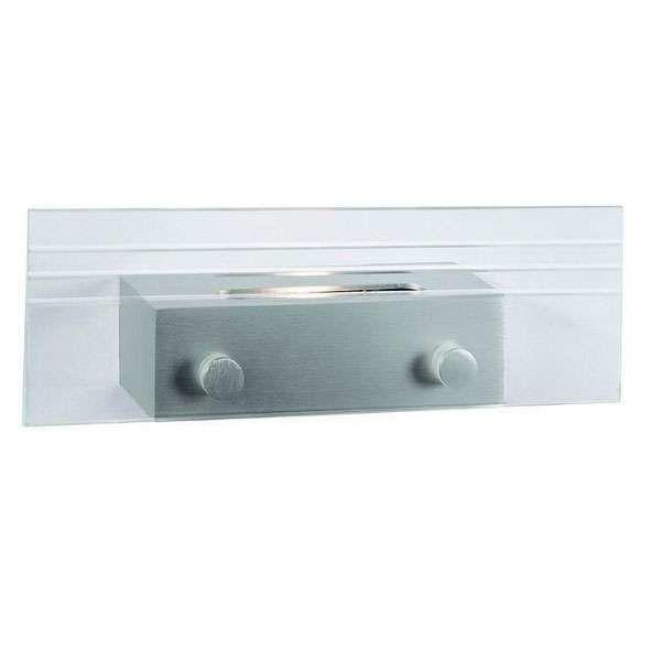 Vägglampa-'Fresnel'-Design-aluminium---LED-inkluderat-/-Inomhus