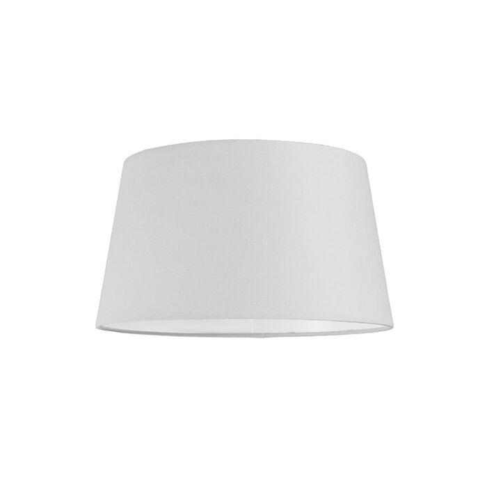 Lampskärm-'30cm-R-SU-E27'-Nej-vit/tyg-Passande-för-LED