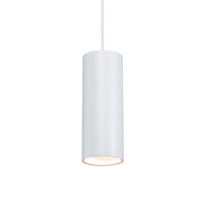 Design-hänglampa-vit---Tubo