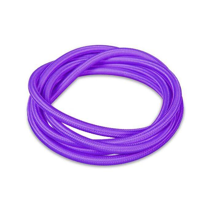 Kabel-'1m'-Nej-lila/tyg
