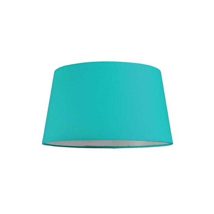 Lampskärm-'30cm-R-SU-E27'-Nej-turkos/tyg-Passande-för-LED