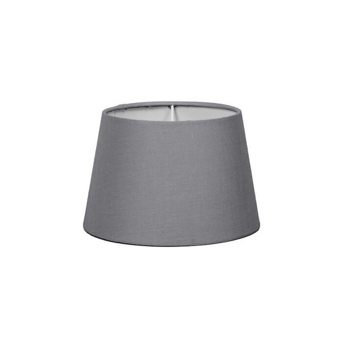 Lampskärm-'18cm-R-SD-E27'-Nej-grå/tyg-Passande-för-LED