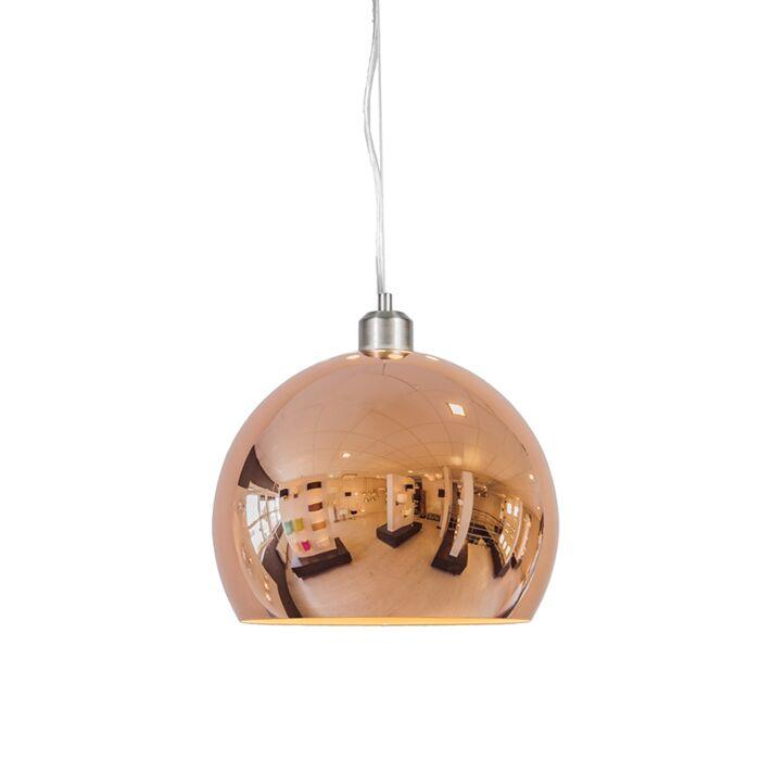 Taklampa-'Globe-28'-Design-koppar---Passande-för-LED-/-Inomhus