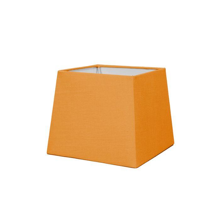 Lampskärm-'18cm-Q-SD-E27'-Nej-orange/tyg-Passande-för-LED