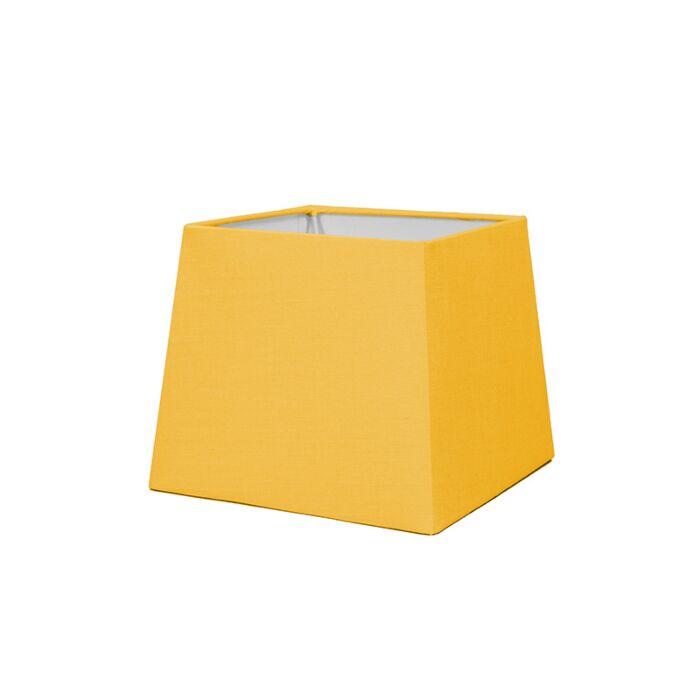 Lampskärm-'18cm-Q-SD-E27'-Nej-gul/tyg-Passande-för-LED