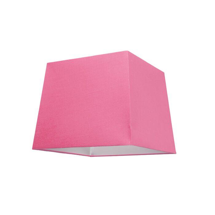 Lampskärm-'30cm-Q-SU-E27'-Nej-rosa/tyg-Passande-för-LED