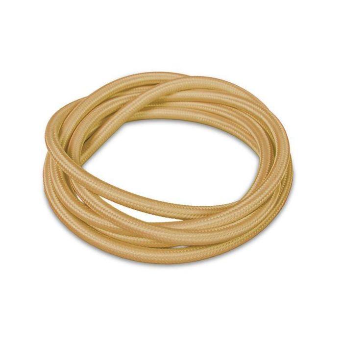Kabel-'1m'-Nej-beige/tyg