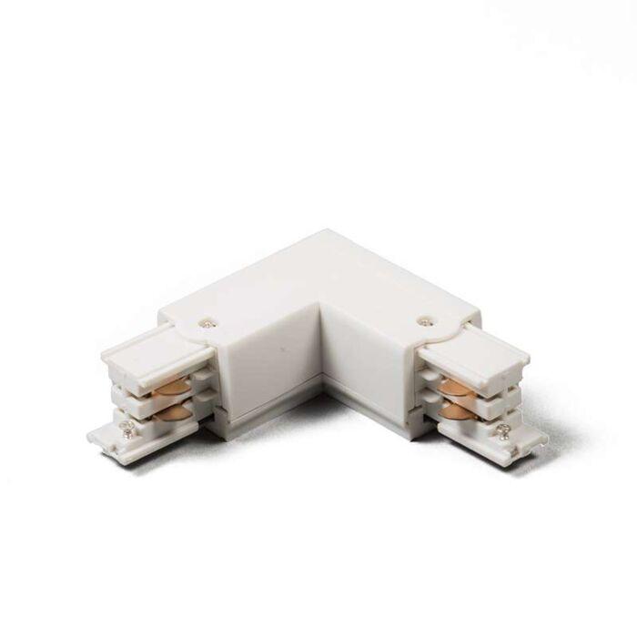 3-fas-samlingsskena-kontakt-'LL'-Moderna-vit/polyester-Inomhus