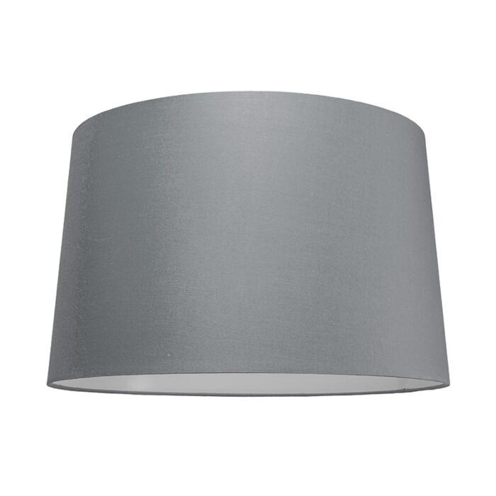 Lampskärm-'50cm-R-SU-E27'-Nej-grå/tyg-Passande-för-LED