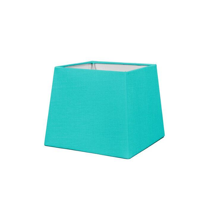 Lampskärm-'18cm-Q-SD-E27'-Nej-turkos/tyg-Passande-för-LED