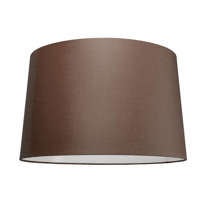 Lampskärm-'50cm-R-SU-E27'-Nej-brun/tyg-Passande-för-LED