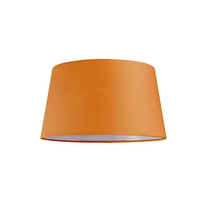 Lampskärm-'30cm-R-SU-E27'-Nej-orange/tyg-Passande-för-LED