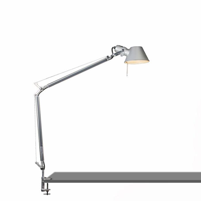 Artemide-bordslampa-justerbar---Artemide-Tolomeo-tavolo-klämma