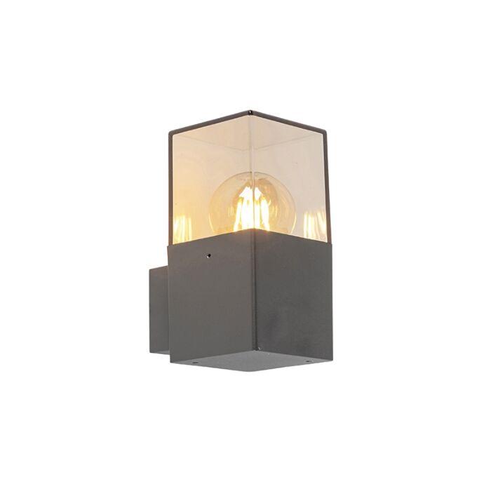 Modern-ytterväggslampa-antracit-IP44---Danmark
