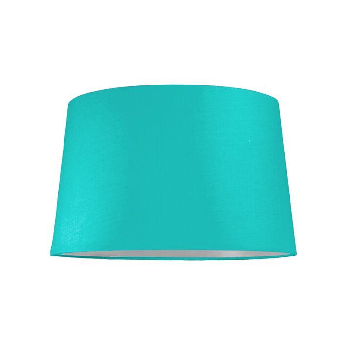 Lampskärm-'40cm-R-SU-E27'-Nej-turkos/tyg-Passande-för-LED