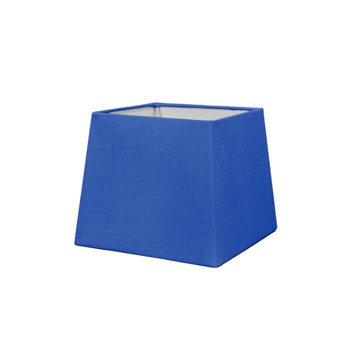 Lampskärm-'18/15/15-Q-SD-E27'-Nej-blå/tyg-Passande-för-LED
