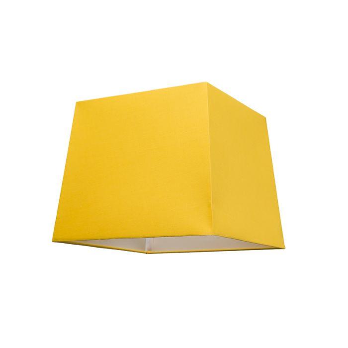 Lampskärm-'30cm-Q-SU-E27'-Nej-gul/tyg-Passande-för-LED