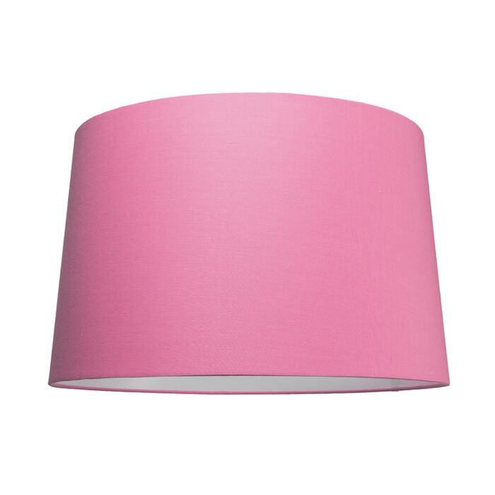Lampskärm-'50cm-R-SU-E27'-Nej-rosa/tyg-Passande-för-LED