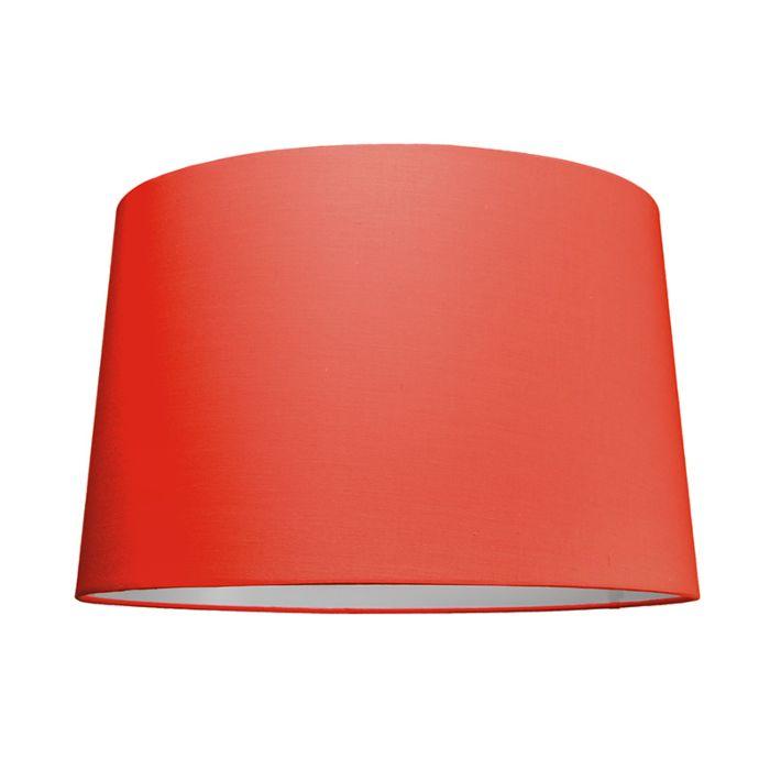 Lampskärm-'50cm-R-SU-E27'-Nej-röd/tyg-Passande-för-LED