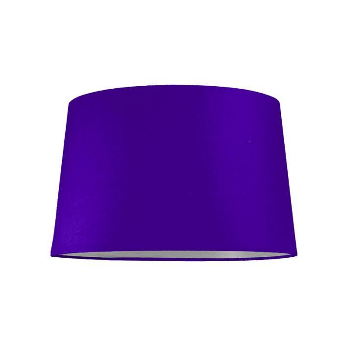 Lampskärm-'40cm-R-SU-E27'-Nej-lila/tyg-Passande-för-LED
