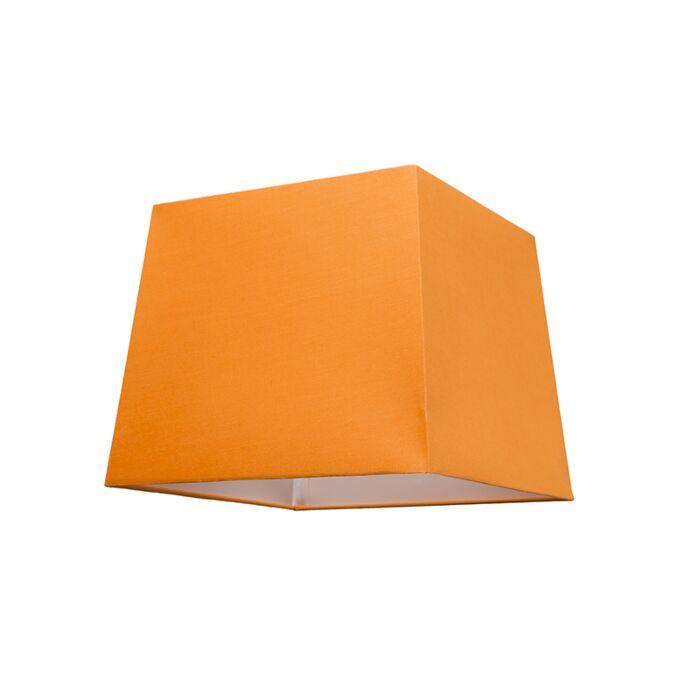 Lampskärm-'30cm-Q-SU-E27'-Nej-orange/tyg-Passande-för-LED