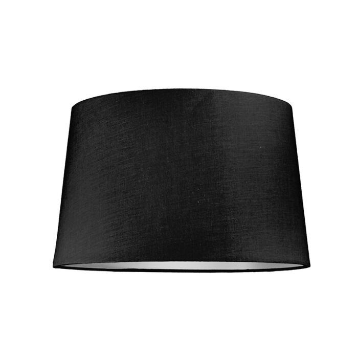 Lampskärm-'40cm-R-SU-E27'-Nej-svart/tyg-Passande-för-LED