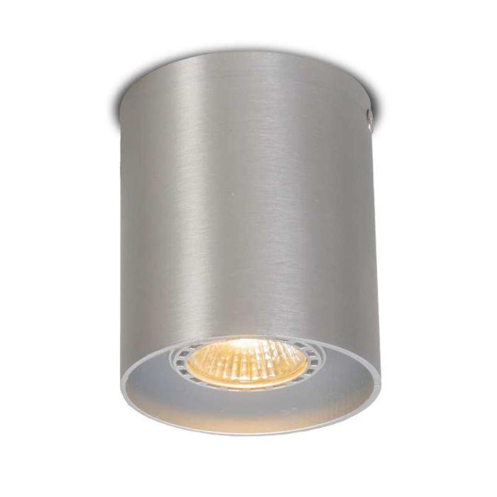 Plafond-strålkastare-'Tubo-1'-Moderna-aluminium---Passande-för-LED