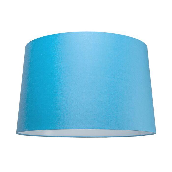 Lampskärm-'50/31/45-R-SU-E27'-Nej-blå/tyg-Passande-för-LED
