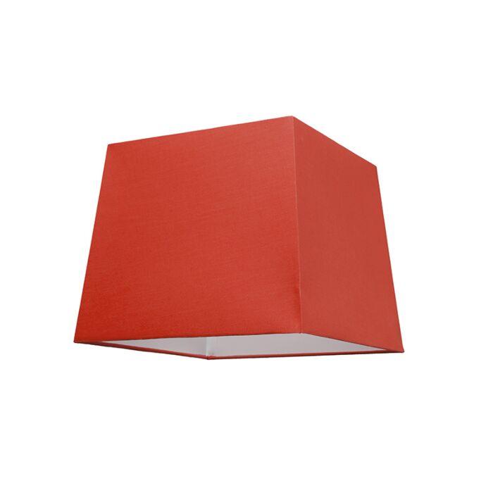 Lampskärm-'30cm-Q-SU-E27'-Nej-röd/tyg-Passande-för-LED