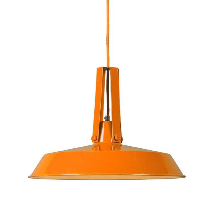 Taklampa-'Living-40'-Moderna-orange/metall-Passande-för-LED