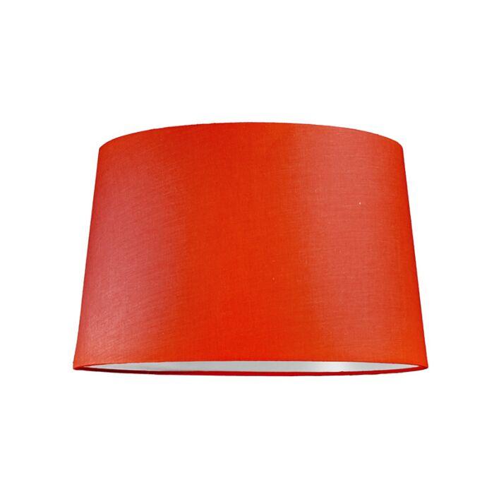 Lampskärm-'40cm-R-SU-E27'-Nej-röd/tyg-Passande-för-LED