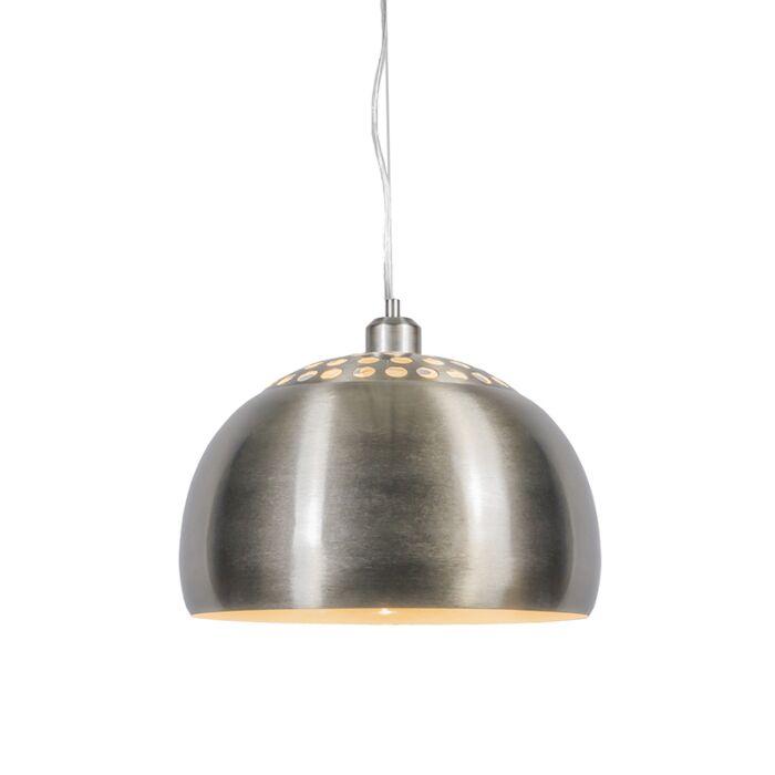 Modernt-hängande-lampstål---Globe