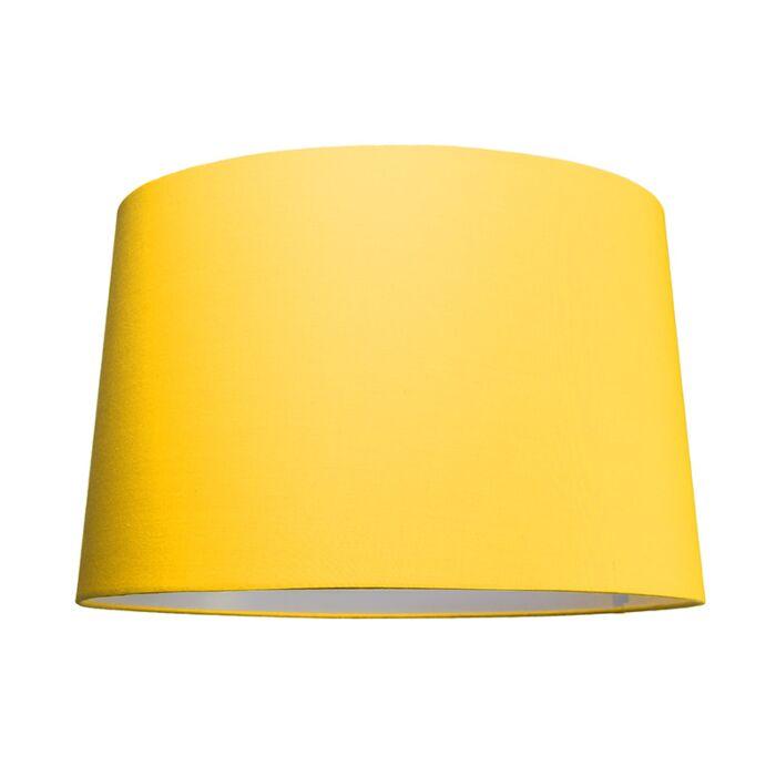 Lampskärm-'50cm-R-SU-E27'-Nej-gul/tyg-Passande-för-LED