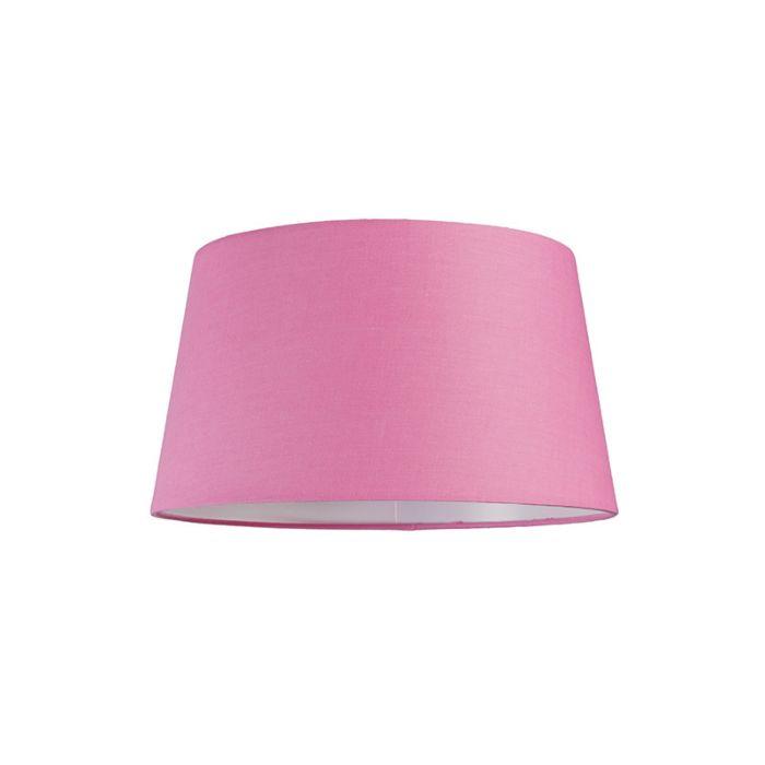 Lampskärm-'30cm-R-SU-E27'-Nej-rosa/tyg-Passande-för-LED