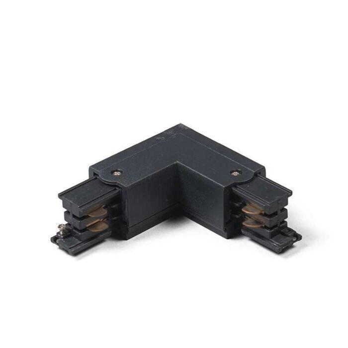 3-fas-samlingsskena-kontakt-'LR'-Moderna-svart/polyester-Inomhus