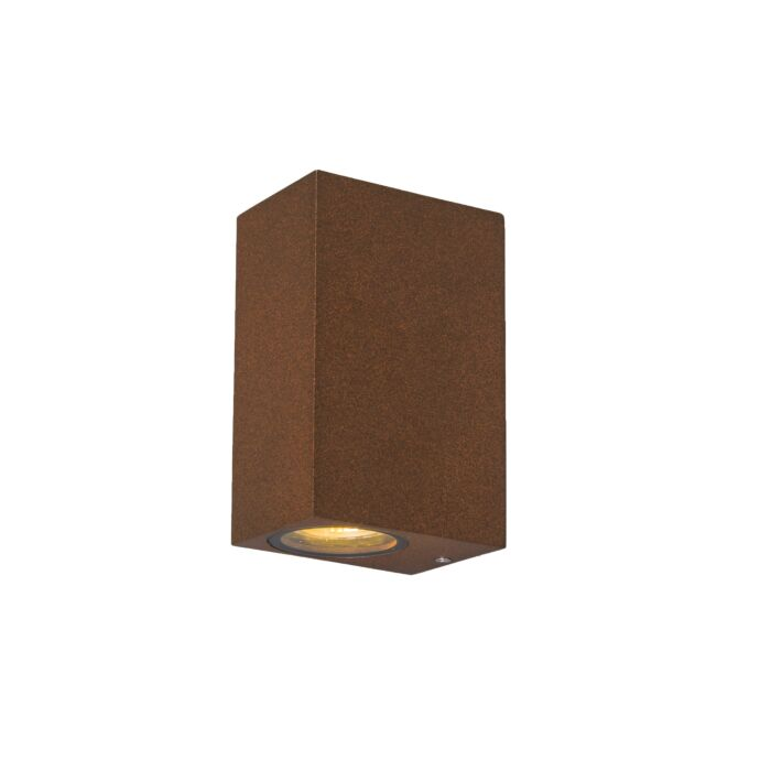 Industriell-vägglampa-rostbrun-IP44---Baleno-II