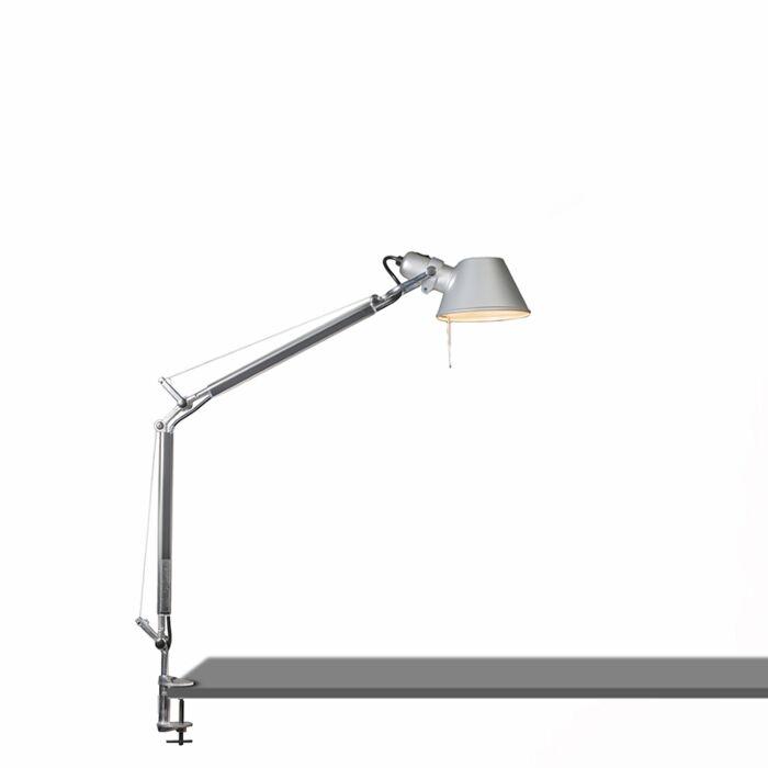Artemide-bordslampa-justerbar---Artemide-Tolomeo-tavolo-mini-klämma