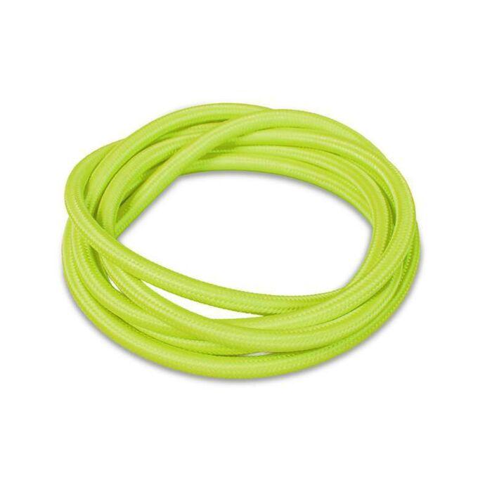 Kabel-'1m'-Nej-grön/tyg