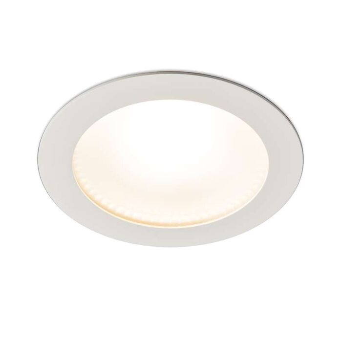 Modern-Inbyggd-Spotlight-Vit-inkl.-15W-LED---Invaser